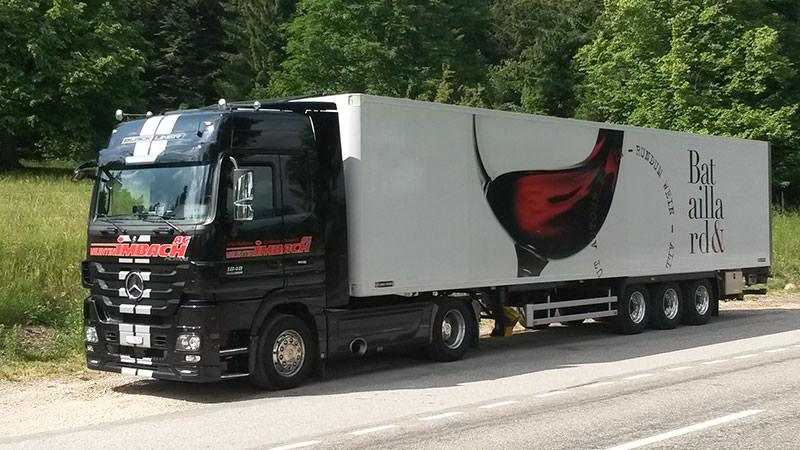 MB Actros 1848 Sattelauflieger