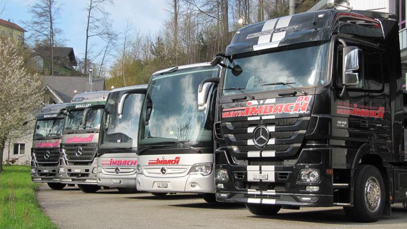 Nehmen Sie einen Einblick in unsere Fahrzeug-Flotte